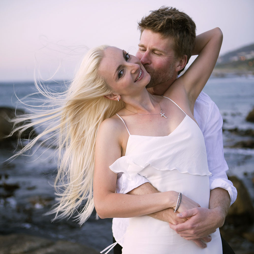 beta beach engagement shoot