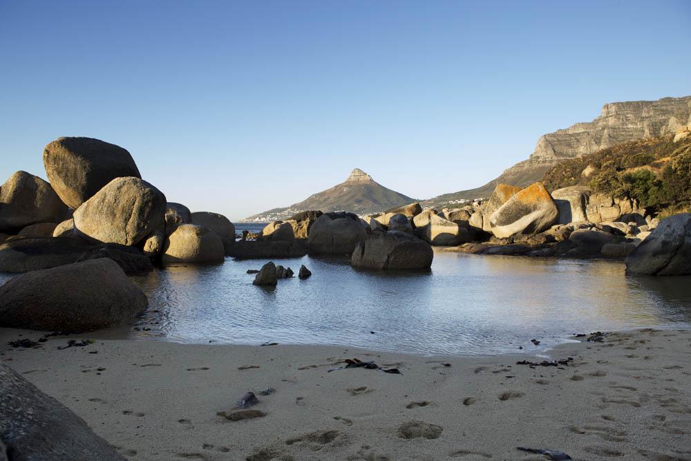 cosy beach, 12 apostles, cape town