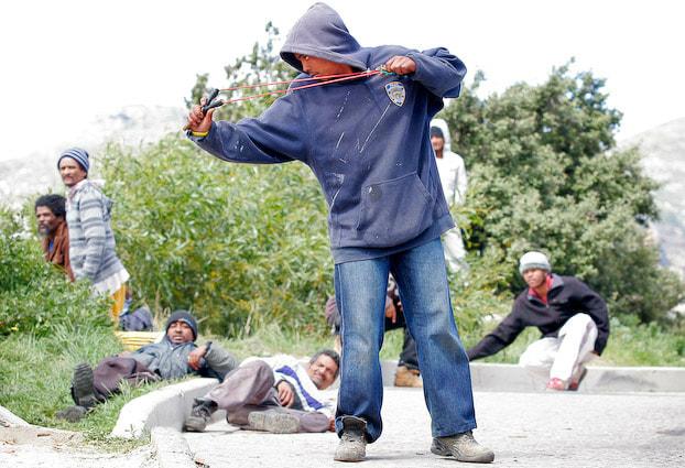 hangberg unrest, hangberg protest